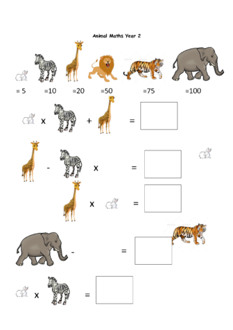 Predators & Prey Homework