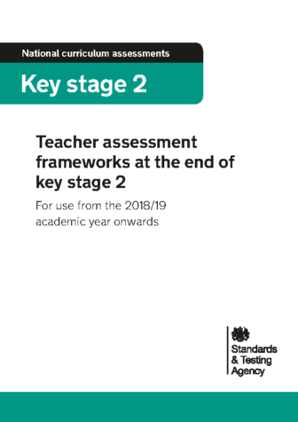 KS2 Teacher Assessment Frameworks